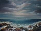"The Wild Atlantic Way 16 x 12"" Oil on block canvas"