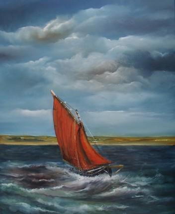Crashing the Atlantic Galway Hooker