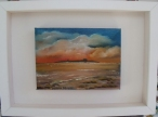 """Dalkey Island 5 x 7"""" Oil on canvas"""