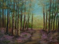 """Hidden Trail 16x12"""" Donna McGee"""