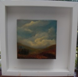Wicklow hills landscape painting