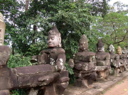 The gateway to Angkor Watt