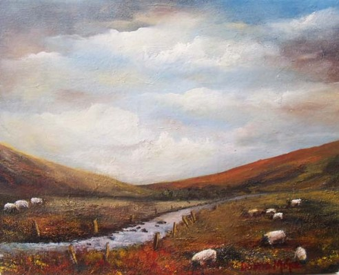 Irish Art_Connemara_View_Oil_Painting_