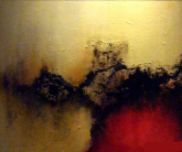 This mortal coil oil painting by Donna McGee Abstract Art