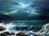 Gateway to Heaven 16 x 12 Oil on block canvas