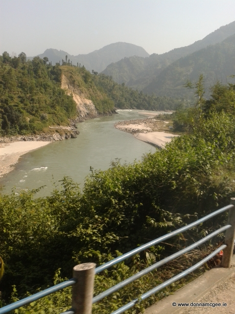 Nepal - A view from the bus