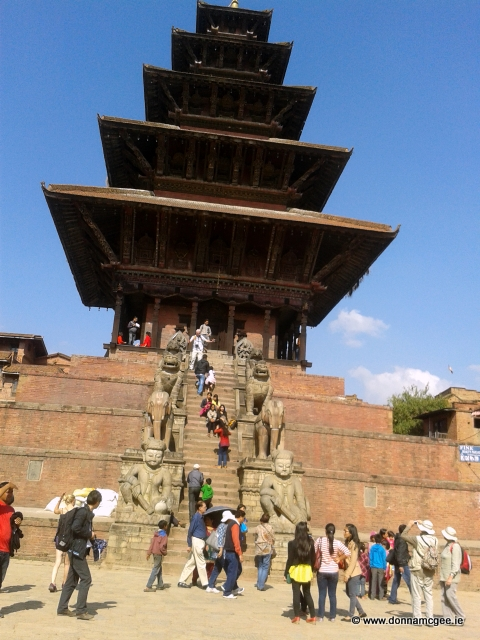 Pagodas and shrines in Bhaktapur