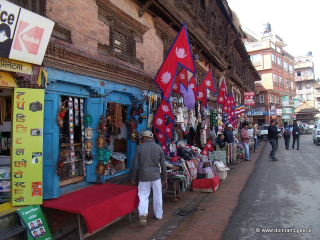 Downtown Bhaktapur