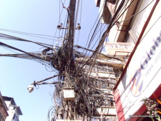 Electric wiring in Kathmandu