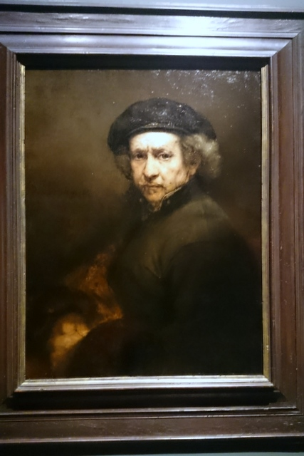 Rembrandt - a self portrait