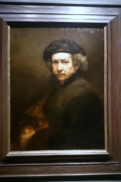 Rembrandt - a self portrait