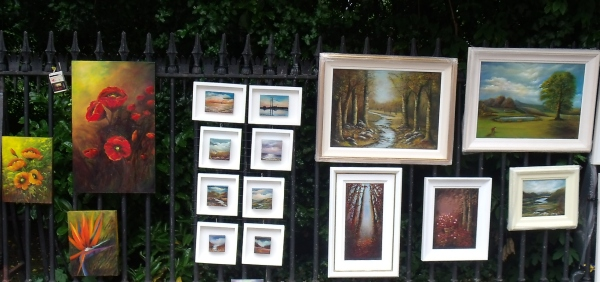 People's Art June 2015 Landscape Paintings Donna McGee