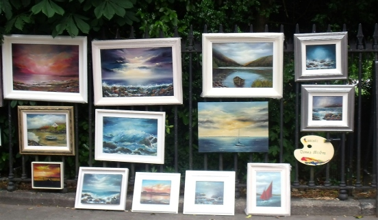 People's Art June 2015 Seascapes Donna McGee